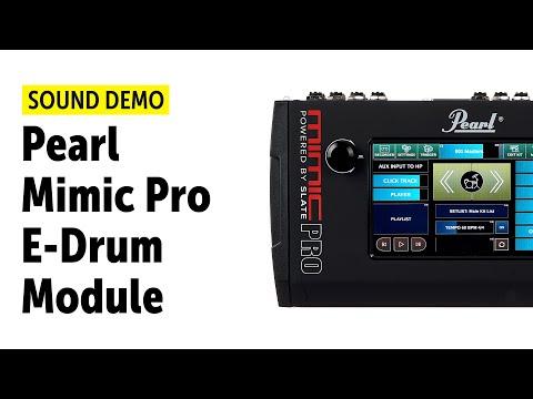 Pearl Mimic Pro E-Drum Sound Module - Feature Demo