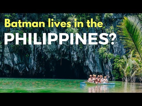 The Underground River Puerto Princesa Palawan - The Philippines Vlog
