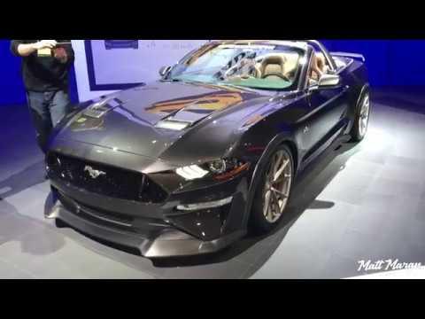 Custom 2018 Mustangs At Sema 2017