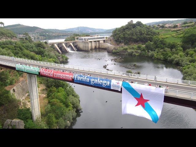 Galiza ten dereito a beneficiarse da produción eléctrica. #TarifaEléctricaGalega