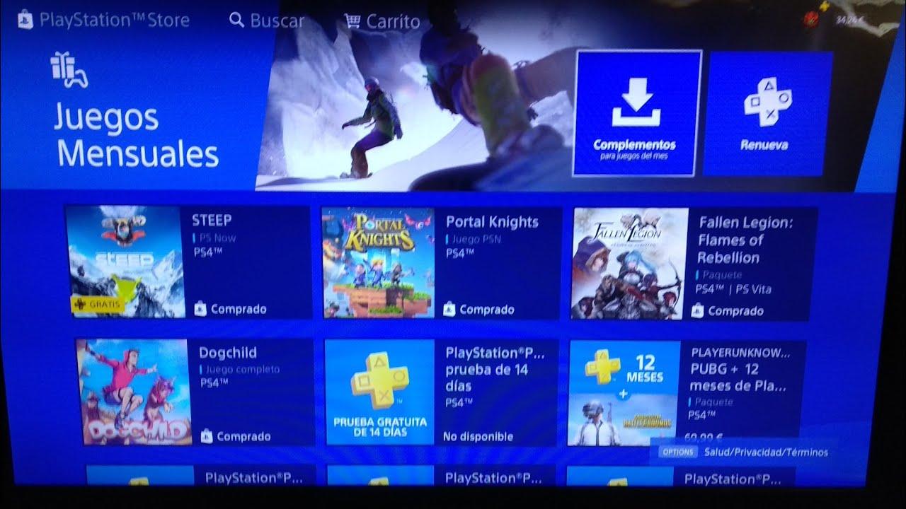 Ya Estan Los Juegos De Playstation Plus De Enero 2019 Youtube