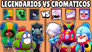 LEGENDARY VS CHROMATICS | WHICH IS BEST QUALITY? | BRAWL STARS OLYMPICS
