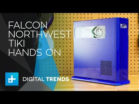 Falcon Northwest Tiki - Hands On Review