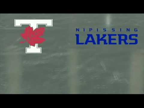 University of Toronto Varsity Blues vs Nipissing University Lakers - October 14th 2012