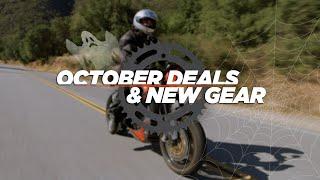 October 2015 Deals & New Gear at RevZilla.com