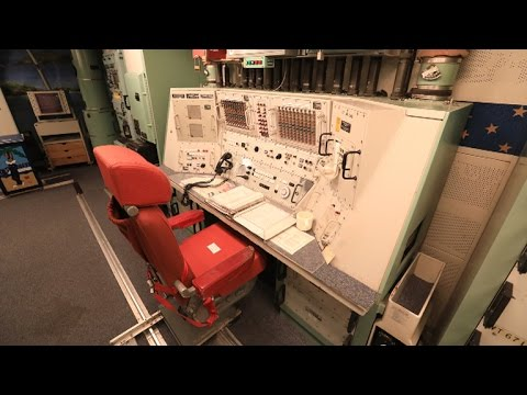 Inside the Oscar-Zero nuclear bunker, decommissioned and frozen in time