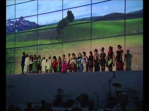 International Renewable Energy Agency (IRENA) Inauguration Abu Dhbai UAE SONG.wmv