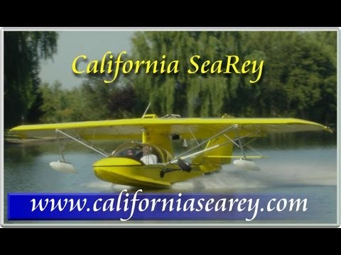 California SeaRey, Arlington Fly-In, Arlington Municipal Airport, Arlington Washington, USA