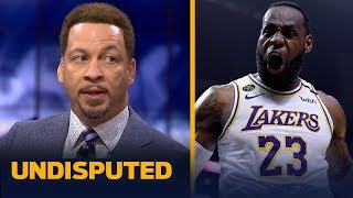 LeBron has a legitimate shot of winning the MVP title — Chris Broussard | NBA | UNDISPUTED