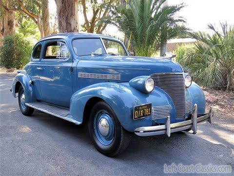 1939 Chevrolet Master Deluxe Business Coupe for Sale - YouTube