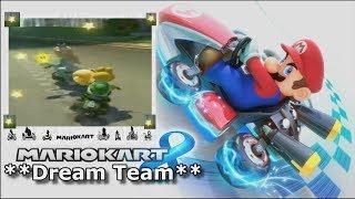 Super MarioKart 8🌟✨ DreamTeam✨🌟🏍🏆🛵🌟✨ Race 2019💐✨