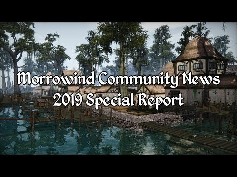 Morrowind Community News - Over 1000 Mods Released In 2019
