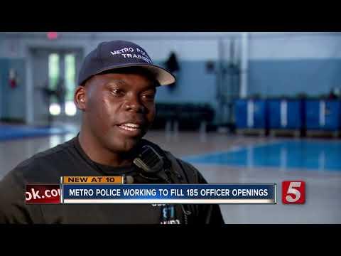 Metro Police Facing Officer Shortage
