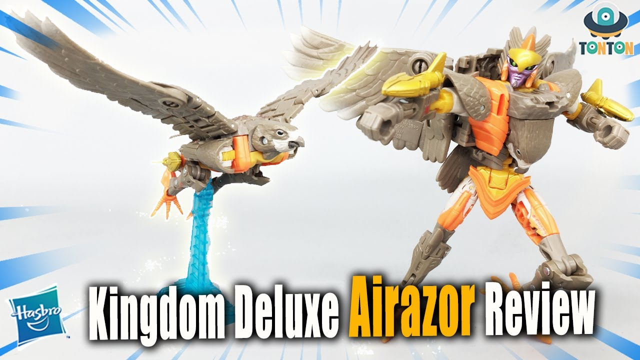Transformer WFC Kingdom Deluxe Airazor In-Hand by TonTon Review