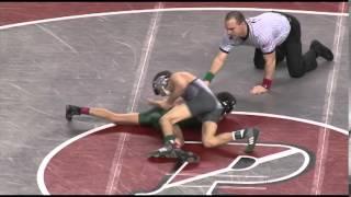 Wrestling Championship quarterfinals, 106lbs: Pat Glory beats Jonathan Tropea