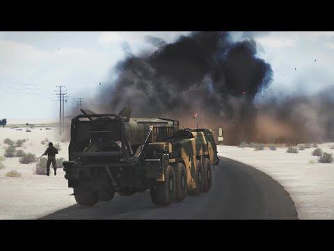 Arma 3 movie: USA vs IRAN | Tensions grow in Iraq
