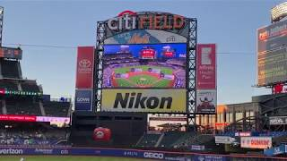 New York Mets 2019 Starting Lineups (vs. Minnesota Twins)