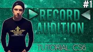 Video How To Record with Adobe Audition CS6 - Tutorial #1 (NEW SERIES) download MP3, MP4, WEBM, AVI, FLV April 2018