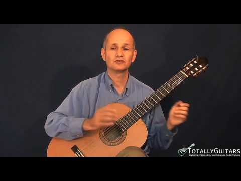 The Canon In D Acoustic Guitar Lesson - Johann Pachelbel