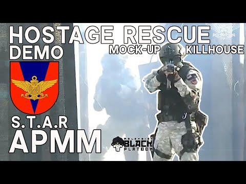 STAR TEAM APMM ~ Demonstrasi Selamatkan Tebusan | #STARteam #APMM #LE #Killhouse