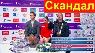 ВЫПРЫГНУТЬ ИЗ ПЛАТЬЯ СКАНДАЛ на Чемпионате России Плющенко раскритиковал судей за баллы Трусовой