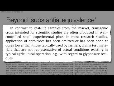 TOP Are GMOs Safe? The Case of Roundup Ready Soy AMAZING