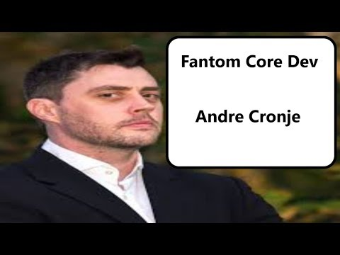 Fantom Blockchain Core Developer: Andre Cronje (2019)