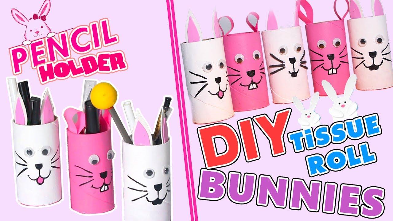 Diy Toilet Paper Roll Bunny