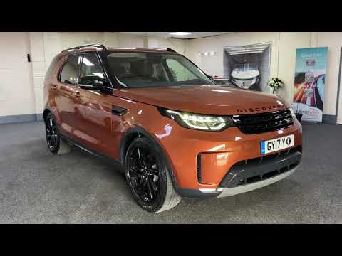 2017 Landrover Discovery HSE In Namib Orange For Sale In Cardiff