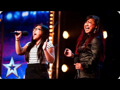 Ana and Fia's emotional duet gives us the chills | Auditions Week 6 | Britain's Got Talent 2016