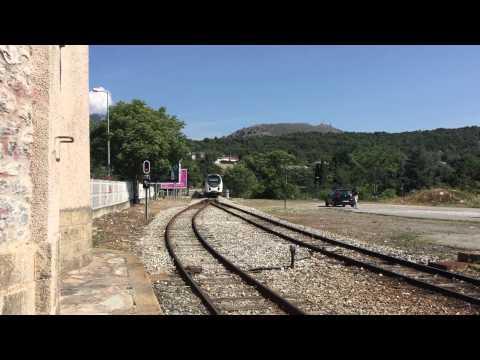 Chemins de fer de la Corse AMG800 Corte