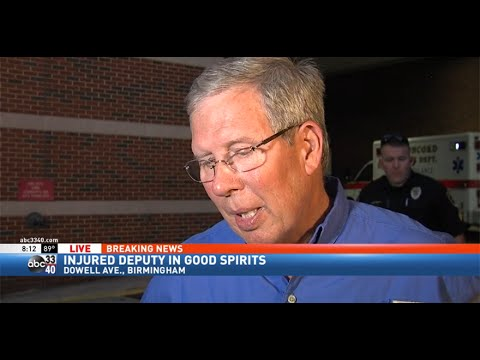 Jefferson County Sheriff Mike Hale on deputy shot in ...