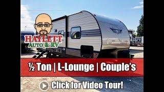 NEW MODEL! 2020 Wildwood 22RBS L-Lounge Couple's Half Ton Travel Trailer