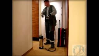 Bettwanzen- Bekämpfung in einem Hotel, Fa. Ab die Taube, Schädlingsbekämpfung