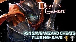 [PS4] Death's Gambit - NG+ Save with Max Stats & Max Souls Cheats - PS4 Save Wizard