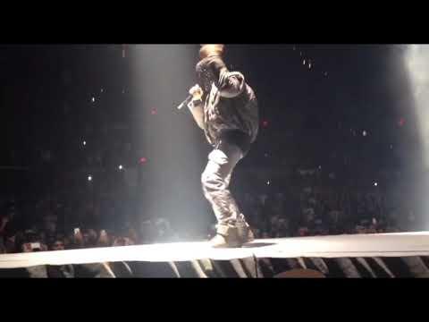 Kanye West performs Upgrade