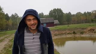Нас не было на хуторе 4 дня а по приезду нас ждало 4 подарка . Приняли решение опять углубить пруд