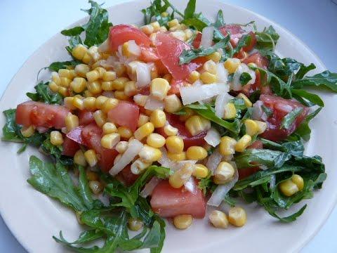 Постный салат на каждый день/ Салаты быстрого приготовления
