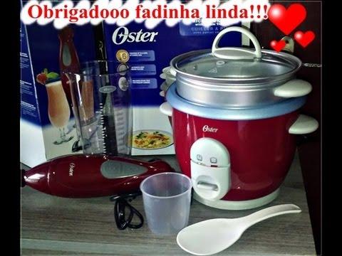 84c09b01b Panela elétrica de arroz e mixer oster!!! - YouTube