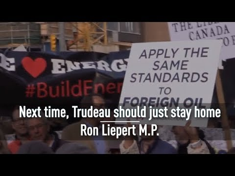 Justin Trudeau should stay home | Ron Liepert