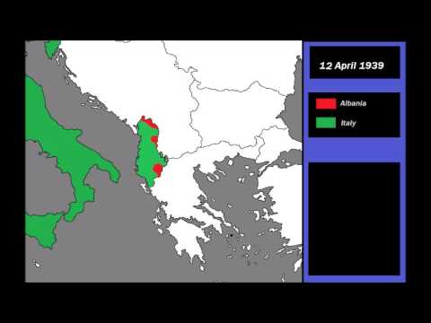 The Italian Invasion of Albania (1939) Every-Day