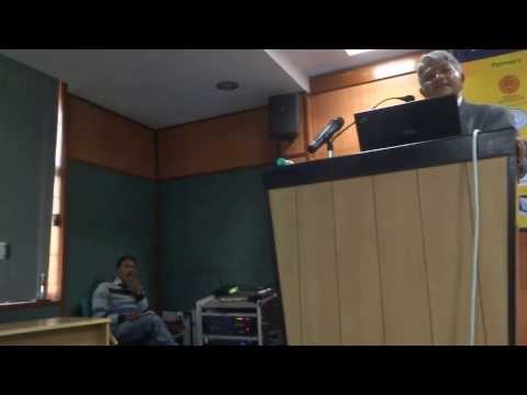 Hari Sharma KeyNote talk in 1st Amity Neuroscience Congress for Research Co-operation, Mar 04, 2014