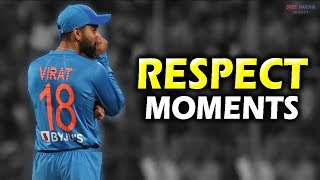 cricket Respect 🙏 ► Most Emotional & Heart touching Moments ► Team India ► Updated 2019