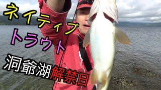 どうも天才釣り師マスゲンです。 北海道の湖は数多くあるけれども、俺は洞爺湖でネイティブなトラウトをスプーンで狙っちゃうんです。