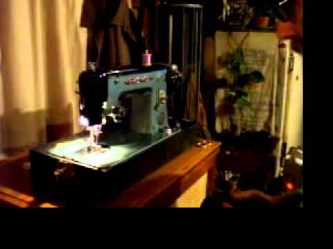 Bel Air Precision De Luxe Sewing Machine YouTube Fascinating Belair Sewing Machine