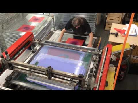Artifact 1 | Youri Messen-Jaschin | new Op art screen printing | 2016