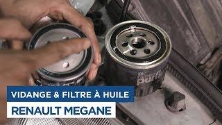 Renault Mégane - Faire la Vidange et Changer le Filtre à Huile