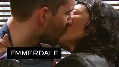 Emmerdale - Moira Kisses Pete