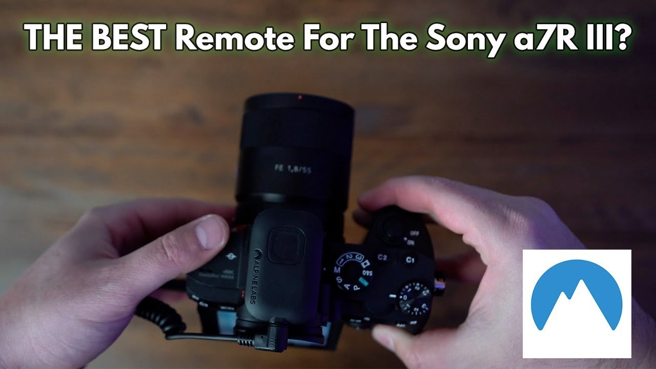 Is This THE BEST HDR/TIMELAPSE Remote For The Sony a7R III and a9?