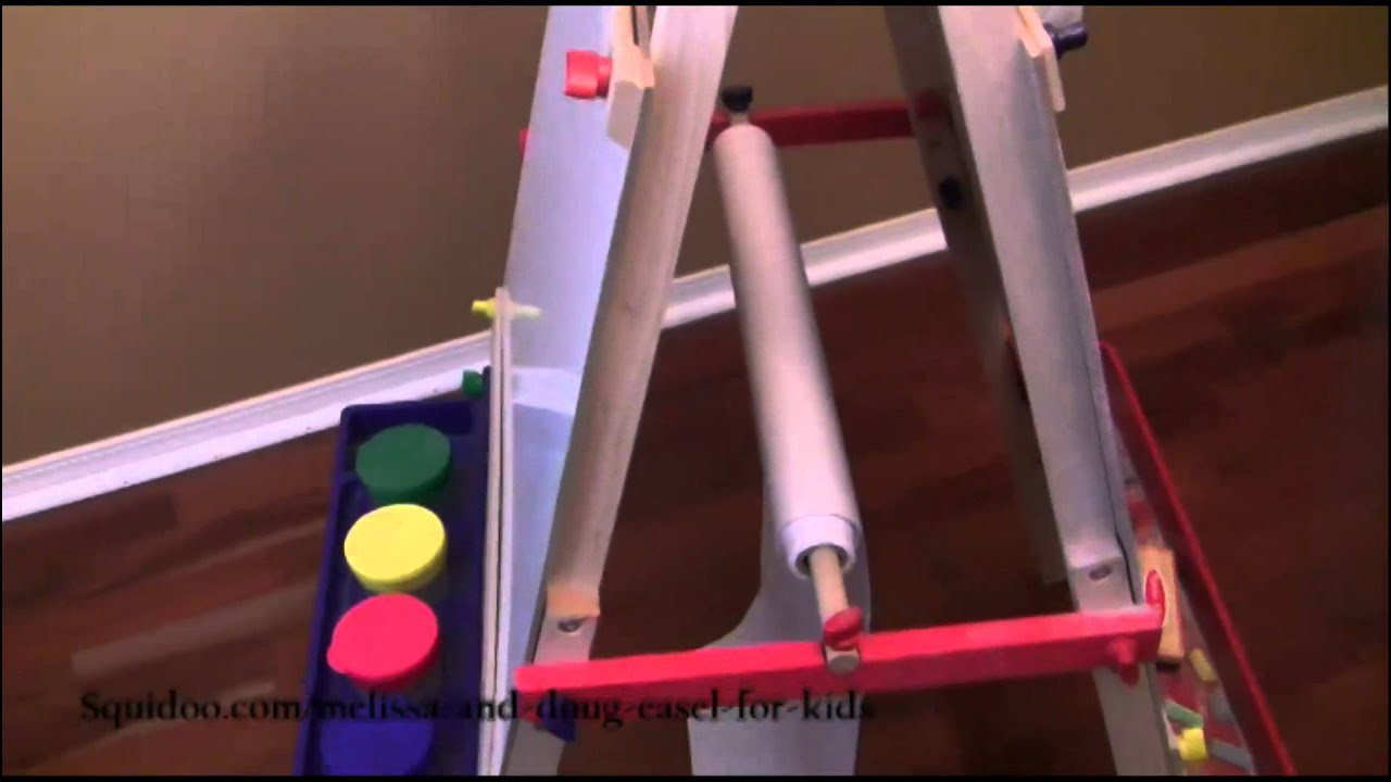 Melissa And Doug Easel For Kids Review Youtube
